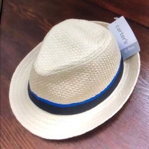 Carters boys 0-9 Months fedora nwt